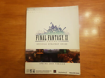 Final Fantasy XI Online: Official Strategy Guide, BradyGames (Very rare)