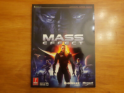 Mass Effect Official Game Guide - Prima Games (Rare)