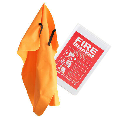 Fiberglass Safety Large Fire Blanket Safety Cover Shelter Home Car 1x1m