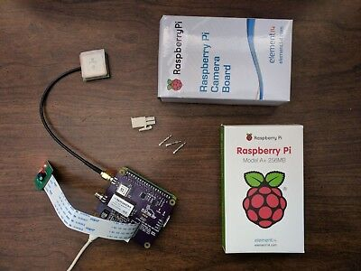 Pi In The Sky Weather Balloon GPS & Camera Payload: Raspberry Pi A+ Camera, more