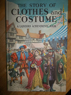 LADYBIRD Achievements Book THE STORY OF CLOTHES AND COSTUME matt Tally 140 2/6