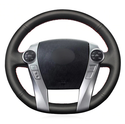 Artificial Leather Car Steering Wheel Cover for Toyota Prius 09-15 / 12-17