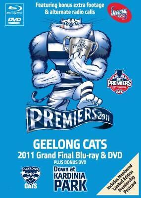 AFL Geelong Cats  GiftTin (Blu-ray/DVD)  Plus Limited Edition Collector Postcard