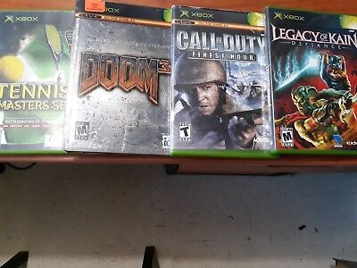 X Box Game Bundle: 4 Games Doom 3 Limited Collectors Edition +More