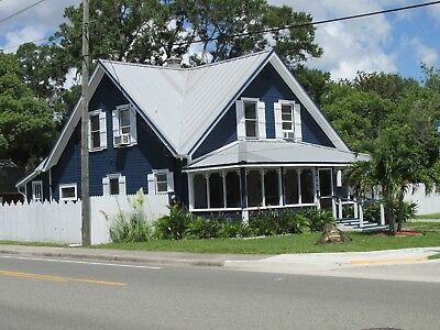 1912 Antique Florida Home For Sale - Fully Furnished-In Florida - $490,000.00