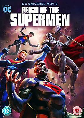 """""""reign Of The Supermen """" 2018 Dvd Pre Order Free Shipping 1/29 Factory Sealed"""