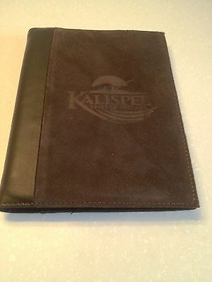 Vintage Leeds Suede Leather Notebook Kalispell  Montana Tribe