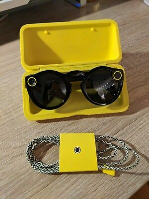 Snap Inc. Spectacles - Smart Glasses - Black - Lightly used