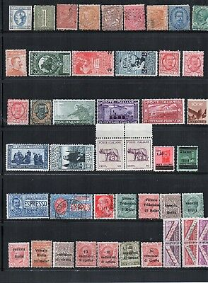 Stamps Italy selection mainly mint