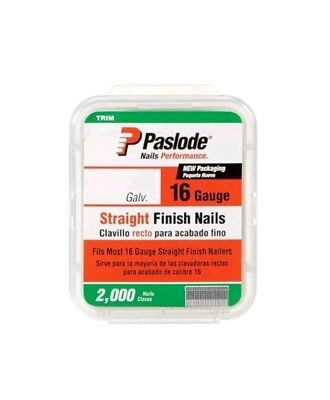 "Paslode 650284 Straight Nail, 1-3/4"", Galvanized, Pack-2000"