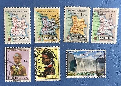 Portuguese Angola Used STAMPS