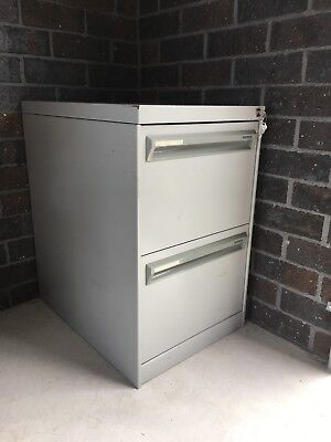 2 Drawer Filing Cabinet Namco Used WITH 2 KEYS
