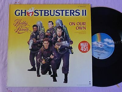 MAXI 45T OST/BOF GHOSTBUSTERS II - Bobby BROWN - ON OUR OWN - 1989