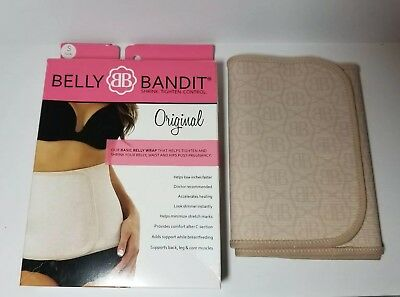 Belly Bandit Original Postpartum Belly Wrap Nude Size Small , S