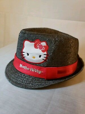 HELLO KITTY HAT Red Whtie and Blue Sport Cap 40th Anniversary Adj ... 9bc00a68b630