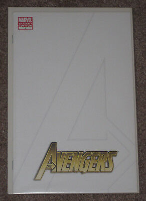 The Avengers #1 (2010) Blank Variant Sketch Cover NM+