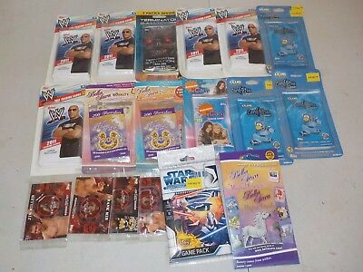 Huge Lot of Unopened Wax Packs w/ 2011 Topps WWE Double Pack Hangers H78