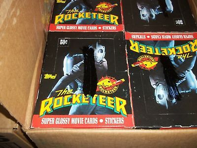 1991 Topps The Rocketeer Unopened Wax Box Lot of 20 Boxes w/ 36 Packs per Box