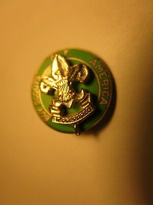 Vintage BSA Boy Scouts of America Scoutmaster Collar Emblem Pin Badge