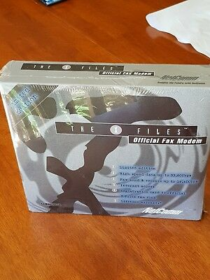 x-files collectable netcomm modem unopenned - new