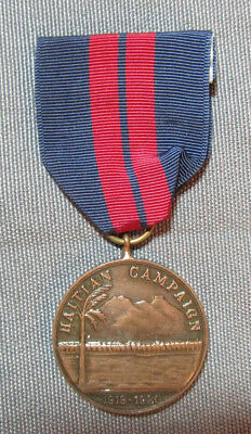 US Navy Haitian Campaign Medal 1919-1920