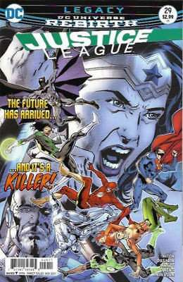 Justice League (2016 series) #29 in Near Mint + condition. DC comics [*v6]