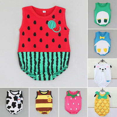 Newborn Romper Clothes Lovely Suit Printed Kid Infant Bodysuit Outfit 2018 Sale