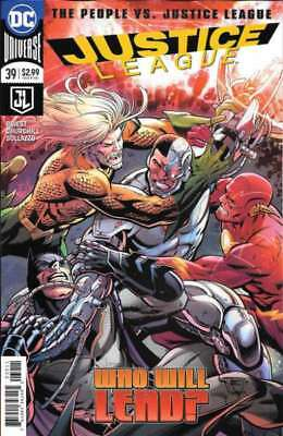 Justice League (2016 series) #39 in Near Mint + condition. DC comics [*as]