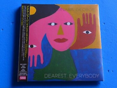 2019 JAPAN INARA GEORGE DEAREST EVERYBODY MINI LP CD w/2 BONUS TRACKS FOR JAPAN