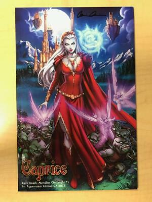 Lady Death Merciless Onslaught #1 1st Appearance Caprice Variant Sabine Rich