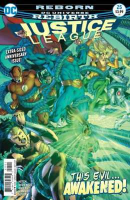Justice League (2016 series) #25 in Near Mint condition. DC comics [*rn]