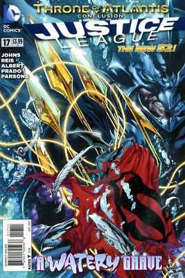Justice League (2011 series) #17 in Near Mint condition. DC comics [*kj]