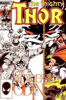 Thor (1966 series) #349 in Near Mint condition. Marvel comics [*td]