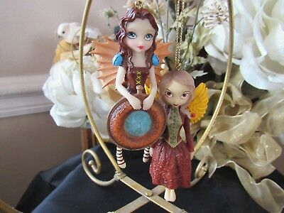 JASMINE BECKET-GRIFFITH MECHANICAL ANGEL I or II fairy ornament PICK ONE! NEW!