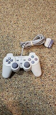 Official OEM Sony PlayStation 1 PS1 Dualshock Controller White SCPH-110 PSOne