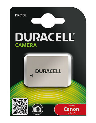 Genuine DRC10L Duracell Battery for Canon Battery P/No  NB-10L