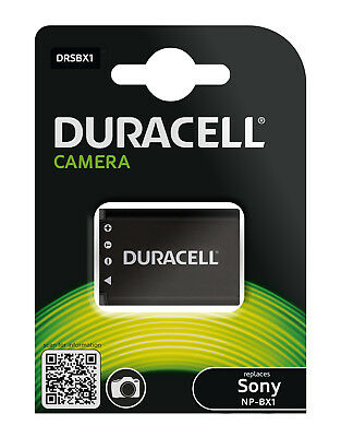 Genuine Duracell Battery for Sony Battery Part Number NP-BX1