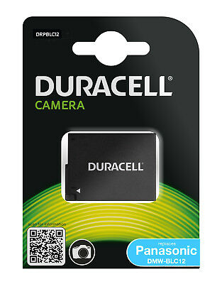 Genuine Duracell Battery for Panasonic Battery Part Number DMW-BLC12