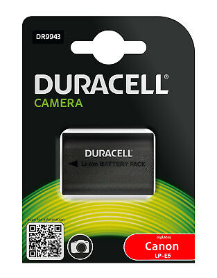 Genuine DR9943 Duracell Battery for Canon LP-E6, LP-E6N