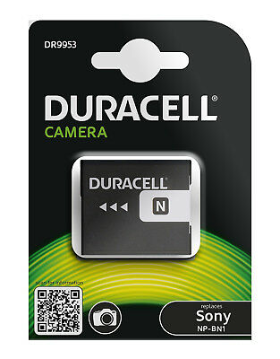 Genuine DR9953 Duracell Camera Battery for Sony battery P/No  NP-BN1