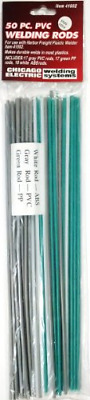 50 Piece Plastic Welding Rods