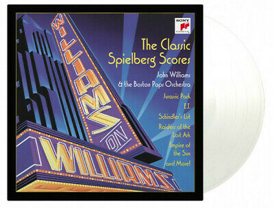 John Williams / Boston Orchestra Spielberg Scores MOV #d CLEAR vinyl 2 LP NEW/SE