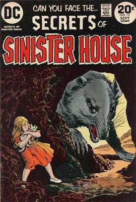 Secrets of Sinister House #13 in Fine minus condition. DC comics [*qi]