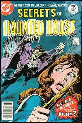 Secrets of Haunted House #6 in Very Fine condition. DC comics [*lc]