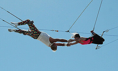 Flying Trapeze Class for Two from Trapeze Las Vegas