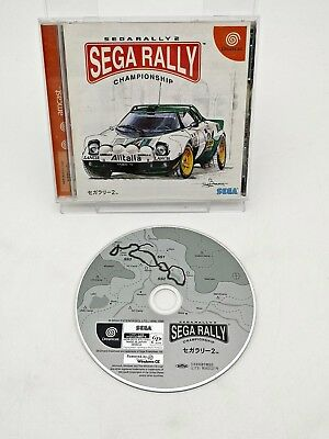 Sega Dreamcast Sega Rally 2 - Japan - Import