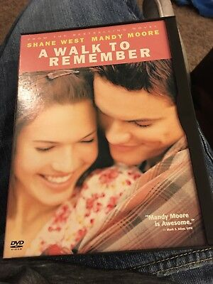 A Walk to Remember DVD - Used