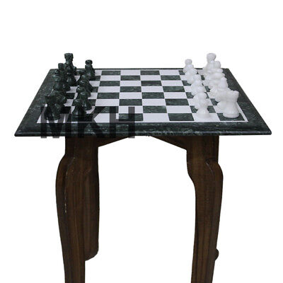 Awe Inspiring Green Marble Chess Board Set Inlay Vintage Carved Stone Ncnpc Chair Design For Home Ncnpcorg