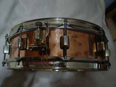 """Pearl Marvin """"Smitty"""" Smith 14"""" x 4"""" Kupfer Copper Snare"""