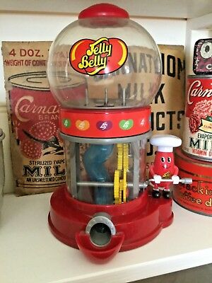 Mr Jelly Belly Bean Machine Gumball Dispenser